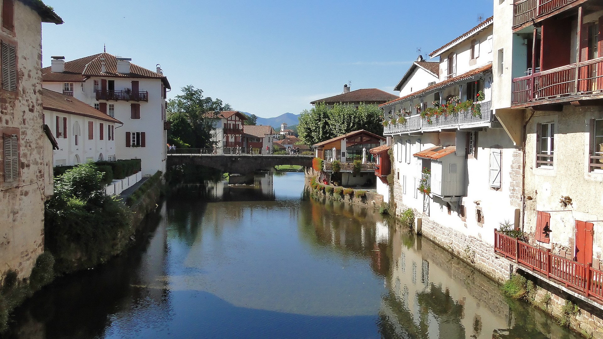 Saint Jean Pied de Port au Pays Basque