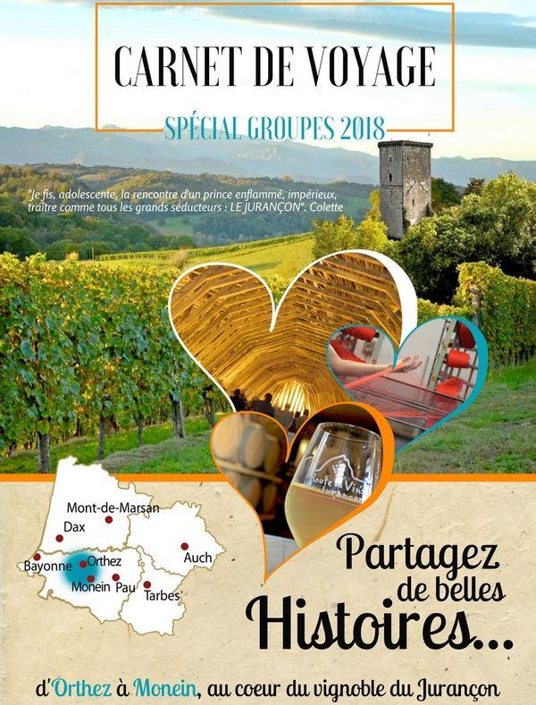 Brochure groupes Coeur de Béarn 2018