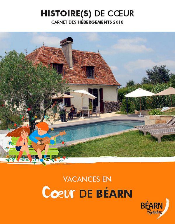 Guide des hébergements en Coeur de Béarn 2018