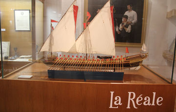 Model of La Réale, Jeanne d'Albret Museum in Orthez