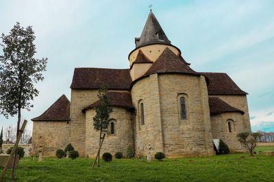 L'église en forme de croix grecque