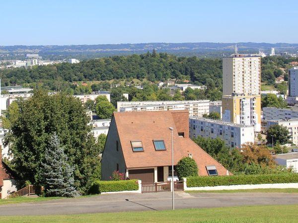 Panorama du haut de Mourenx au belvedere
