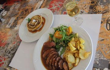 Assiette de Pays - Restaurant Une Pause s'Impose à Monein