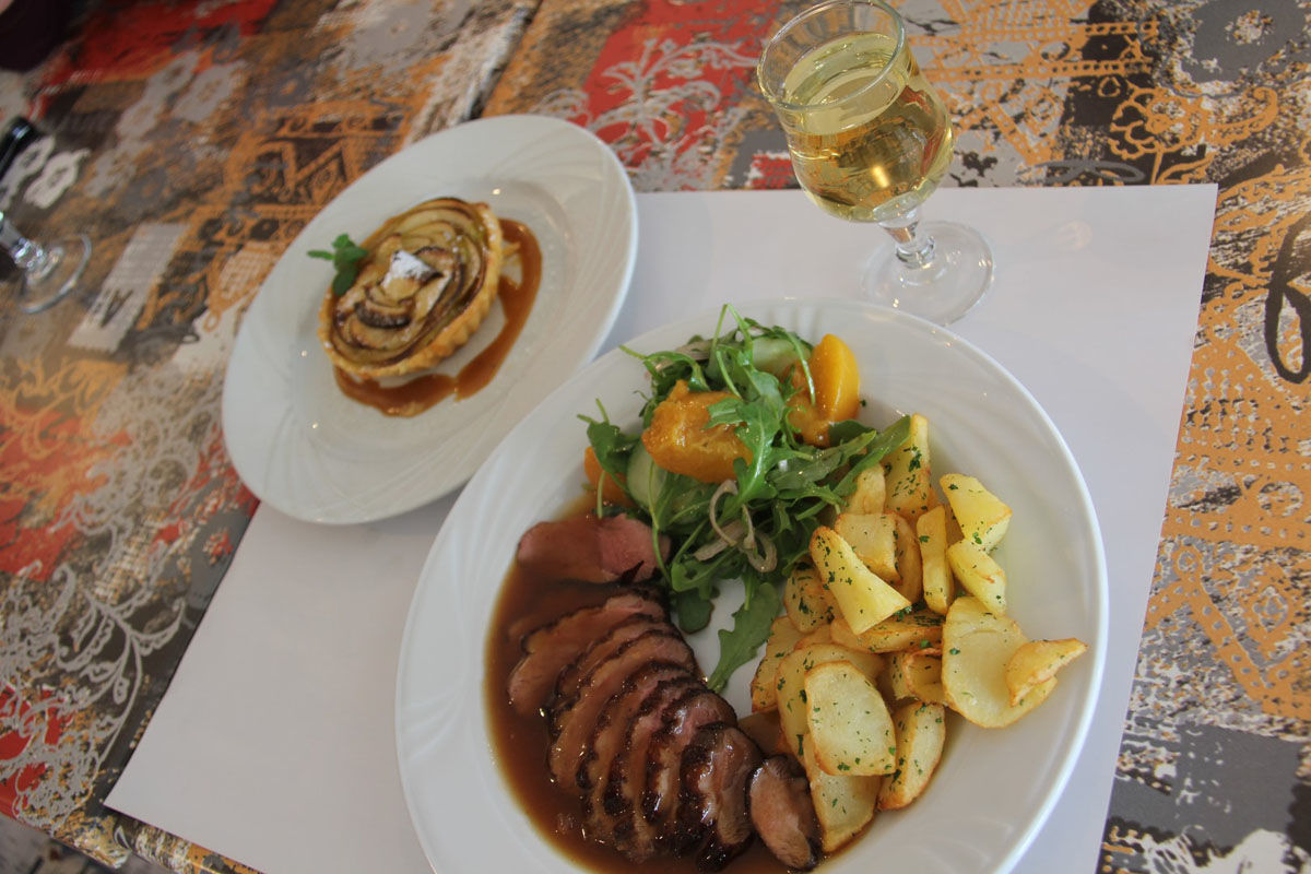 Assiette de Pays - Restaurante Une Pause s'Impose en Monein