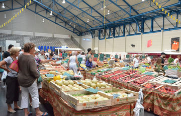 Orthez market on Tuesday mornings