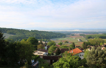 Viewpoint from Arthez-de-Béarn