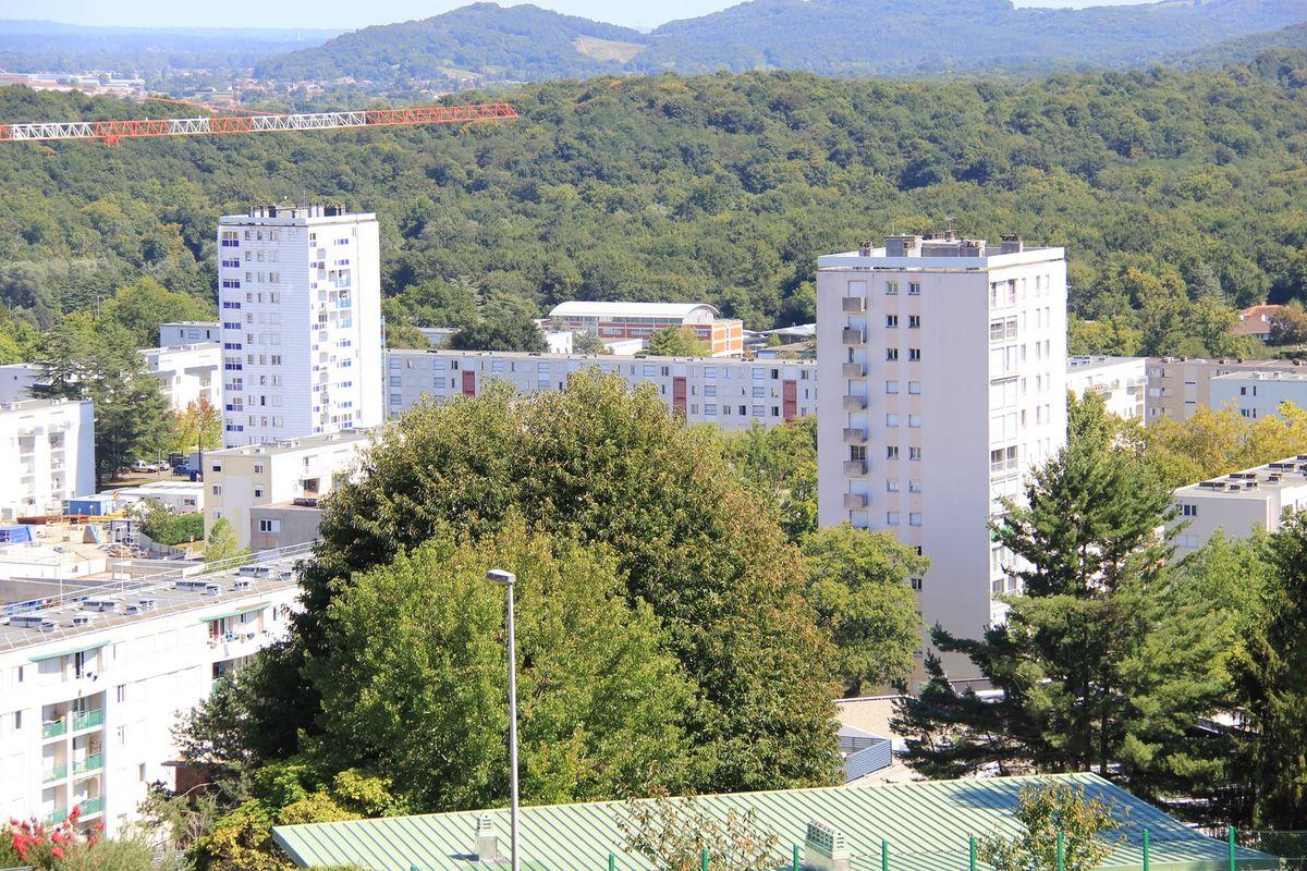 Les tours du centre ville de Mourenx
