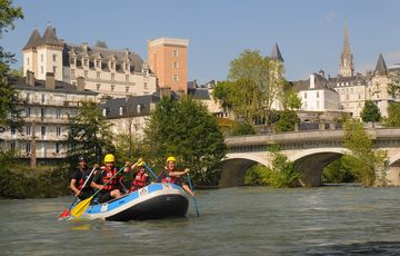 Rafting on the Gave de Pau