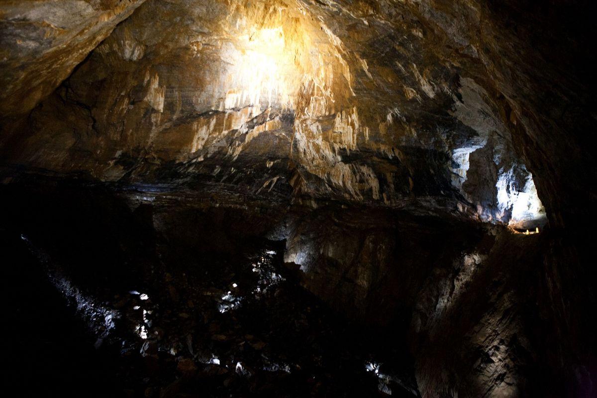 La gruta de La Verna