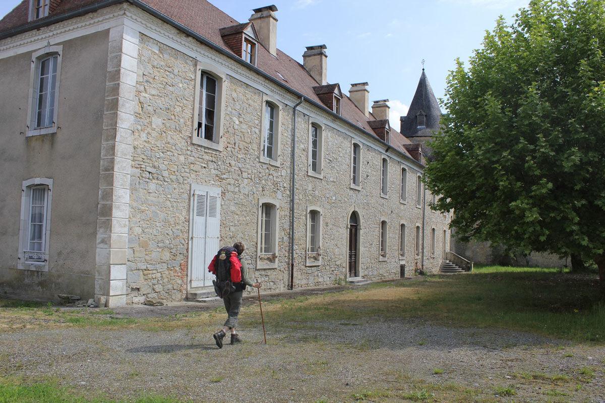 Pèlerin de la Voie du Puy-en-Velay à Sauvelade