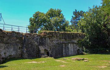 Les remparts du château Moncade à Orthez