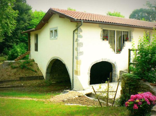 The Candau watermill in Castétis