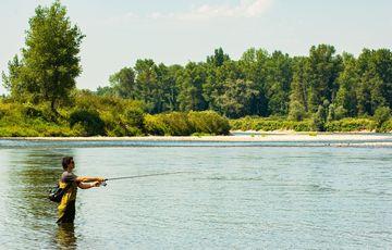 Pêche sur la Gave de Pau Béarn