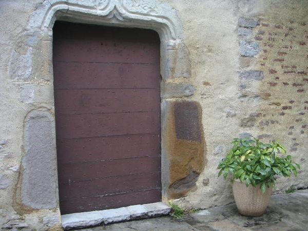 Porte des cagots à l'église de Cardesse
