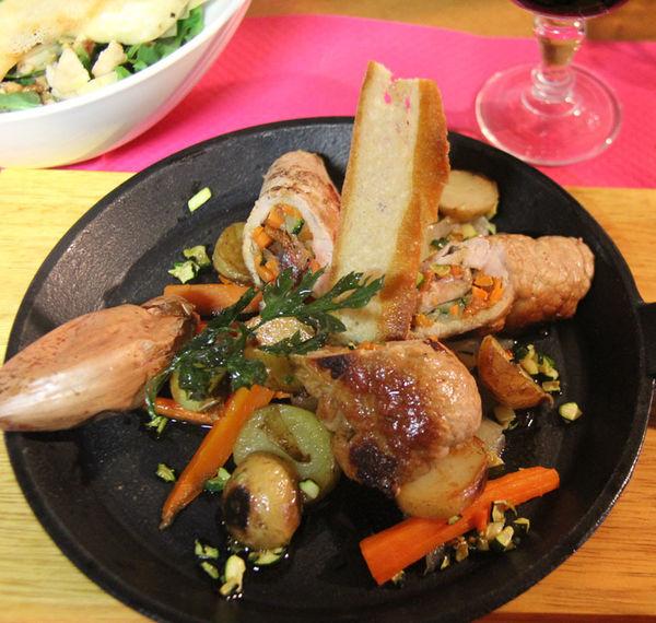 Assiette de Pays - Restaurant La Bulle à Argagnon