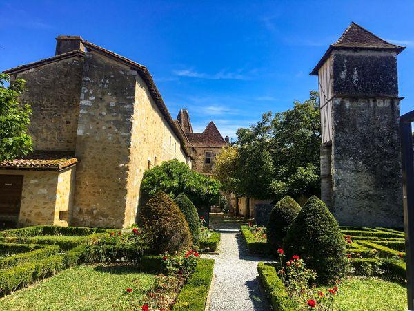 Jardin du musée Jeanne d'Albret à Orthez