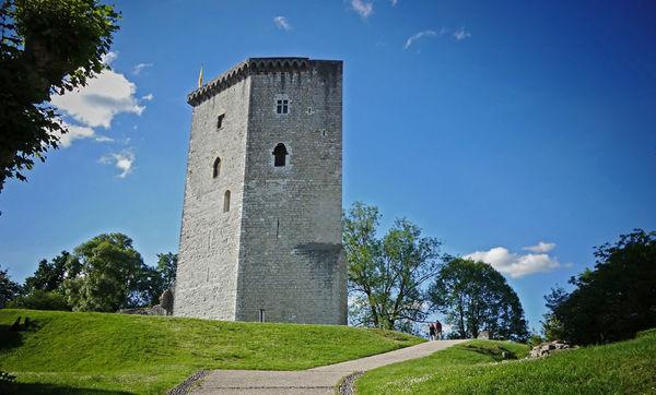 Le Château Moncade à Orthez