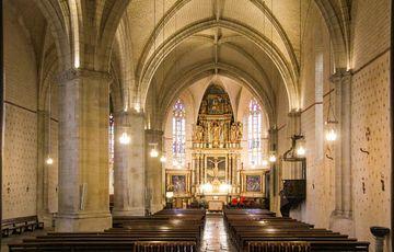 L'église St Girons et son retable du 18è siècle
