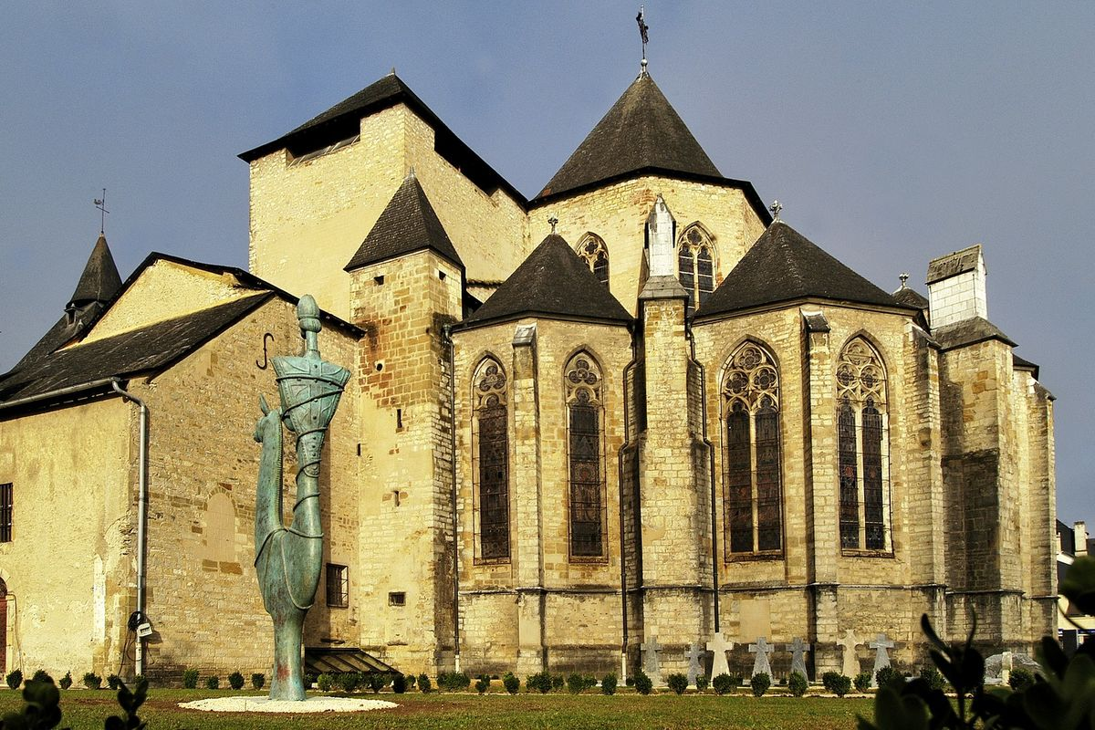 The Cathedrale of Oloron-Sainte-Marie