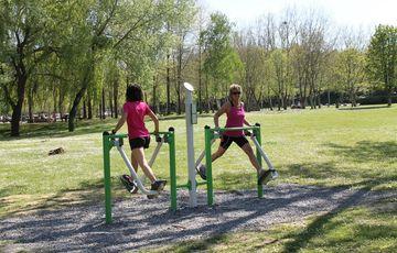 Activités sportives de la base de loisirs
