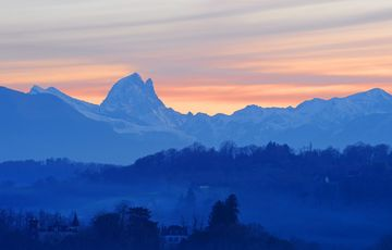 The Pic du Midi d'Ossau