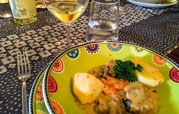 Assiette de Pays Cœur de Béarn plat restaurant la Casa Orthez
