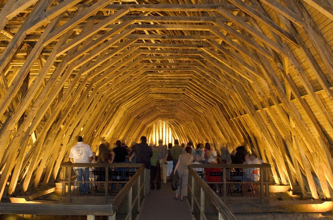 Office de tourisme coeur de b arn monein orthez for La rotonde saint girons
