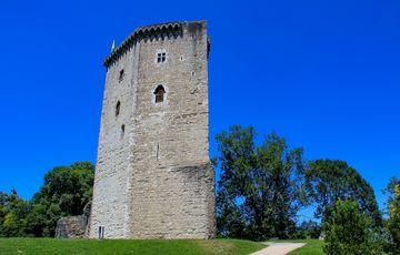 La tour du château Moncade à Orthez