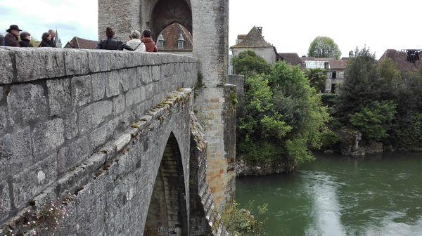 Au pont vieux d'Orthez
