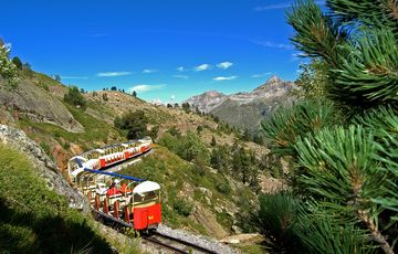 The little train of Artouste