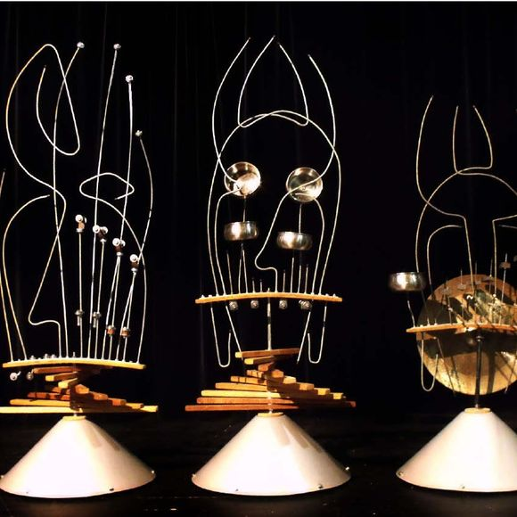 Exposition musicale interactive : Sculptures sonores - ORTHEZ