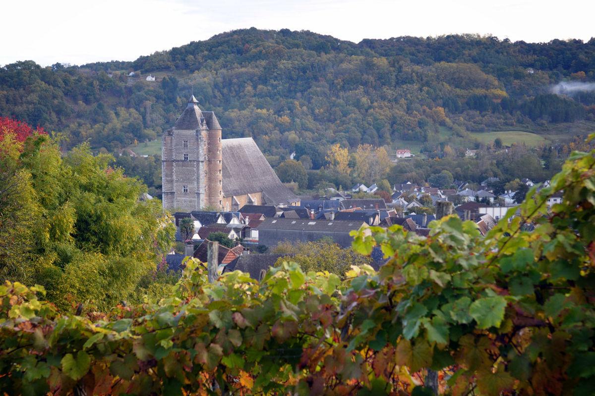 Eglise Saint-Girons de Monein en Béarn