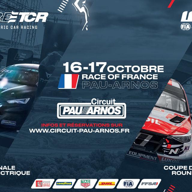 Courses automobiles internationales - Circuit Pau-Arnos