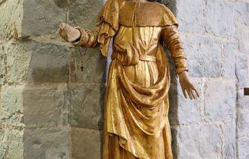Statue de St Jacques