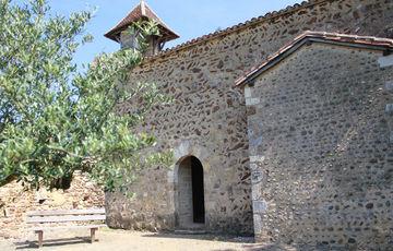 La Capilla de Caubin en Arthez-de-Béarn