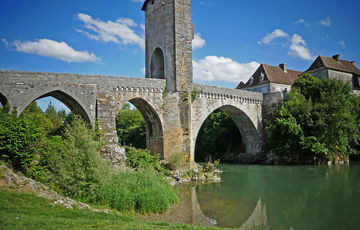 The Pont Vieux in Orthez