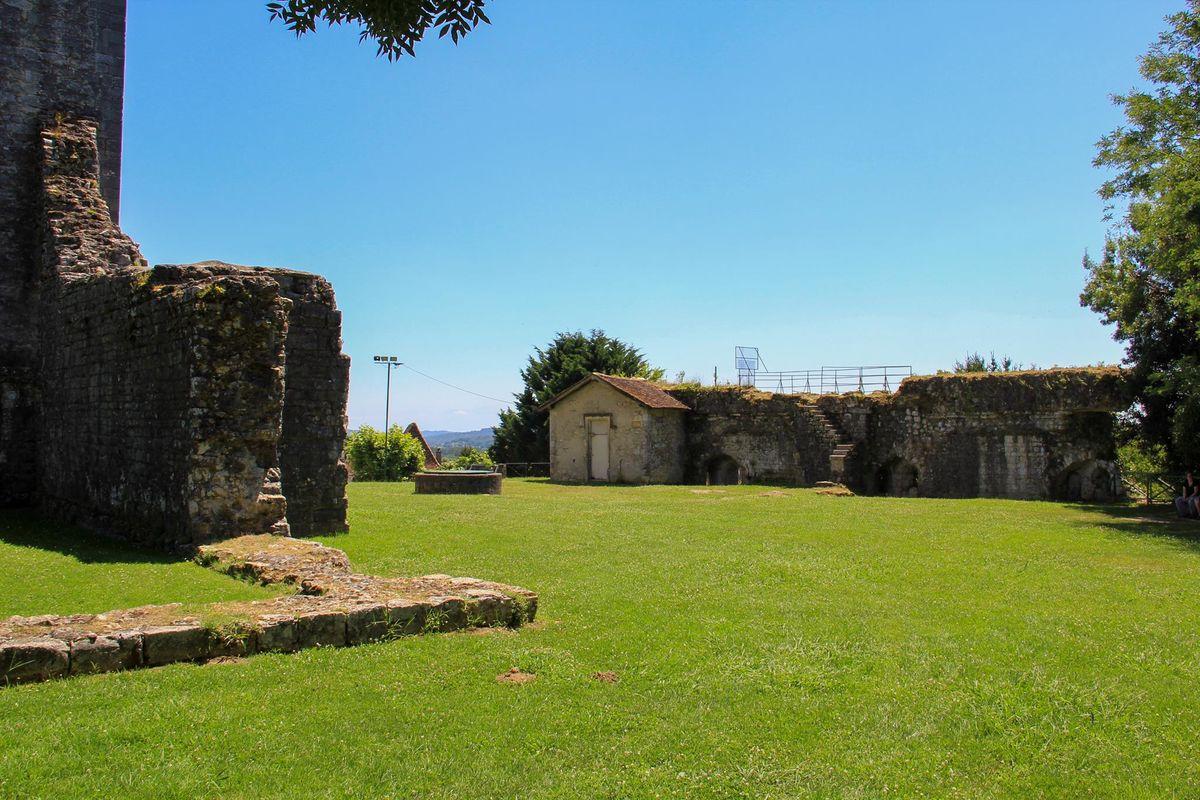 Parc du château Moncade à Orthez