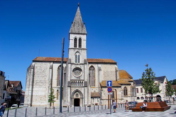 L'église St Pierre d'Orthez
