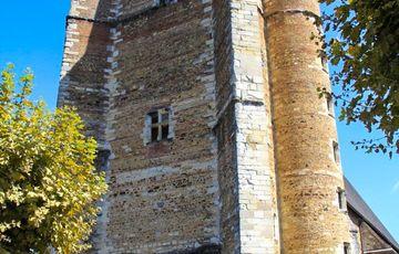 Clocher de l'église St Girons