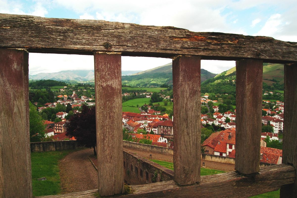 Viewpoint for Saint-Jean-Pied-de-Port