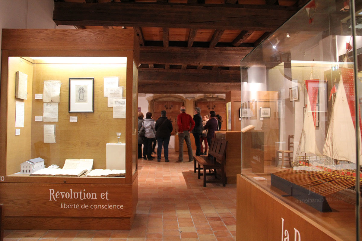 The Jeanne d'Albret Museum in Orthez