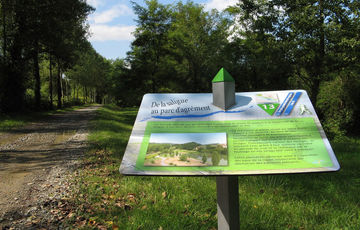 The Lendresse interpretative trail