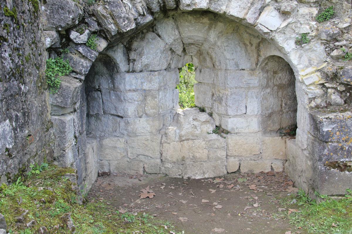Triple archère, Château Moncade à Orthez