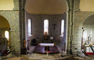 Cœur de l'Abbaye de Sauvelade
