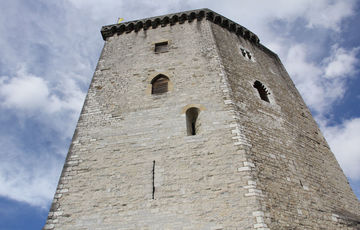 The keep of the Moncade Castle