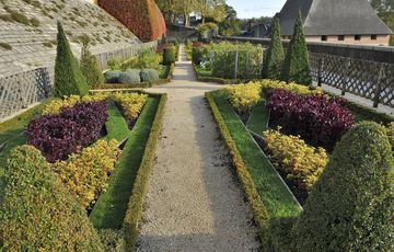 The gardens of the Castle of Pau