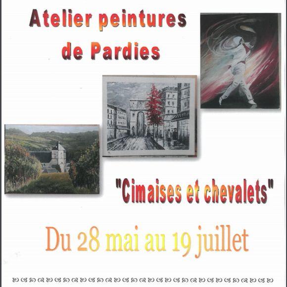 Exposition : Cimaises et chevalets - MONEIN