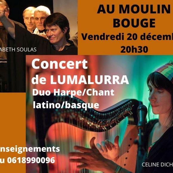 Concert : Lumalurra - MONEIN