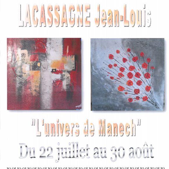 Exposition : L'univers de Manech - MONEIN