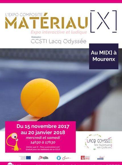 Exposition: matériau[x] l'expo composite - MOURENX